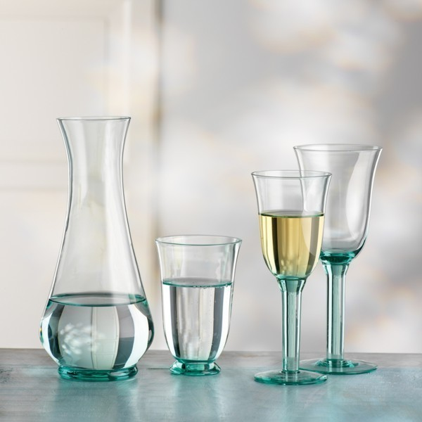 bohemia cristal wei weingl ser rustica 6 st meine stilwelt. Black Bedroom Furniture Sets. Home Design Ideas