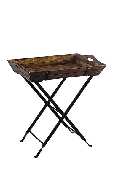 tablett mit st nder bois cir meine. Black Bedroom Furniture Sets. Home Design Ideas