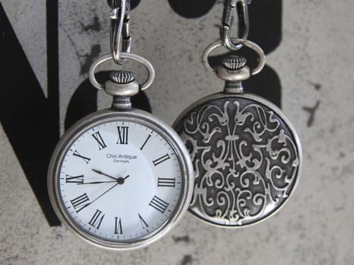 "Chic Antique Vintage Taschenuhr ""Antik"""